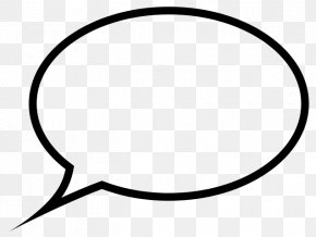 Speech Bubble Black - Speech Balloon Bubble Clip Art PNG