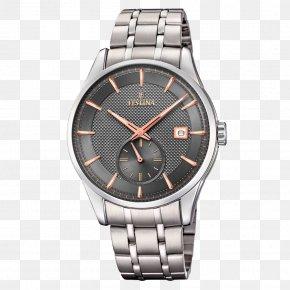 Watch - Festina Watch Clock Chronograph Strap PNG