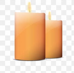 Vector Hand-painted Candles - Candle Euclidean Vector Computer File PNG