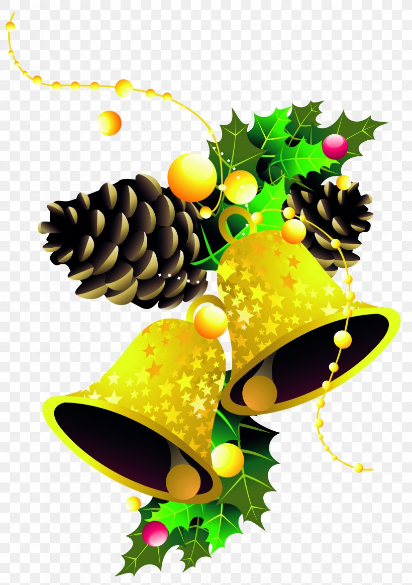 Christmas Day Vector Graphics Image Christmas Decoration, PNG, 2370x3366px, Christmas Day, Bell, Christmas Decoration, Conifer, Fir Download Free