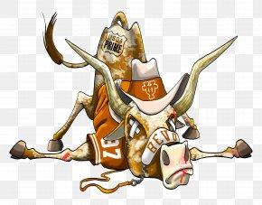Texas Longhorn - Texas Longhorns Football Cartoon Mascot PNG