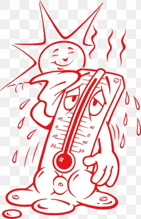 Sweat Thermometer - Thermometer Temperature Perspiration Heat PNG
