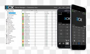 Android - 3CX Phone System Voice Over IP VoIP Phone Business Telephone System Mobile Phones PNG