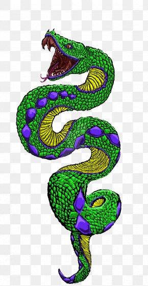 Snake Tattoo Clipart - Snake Tattoo Clip Art PNG