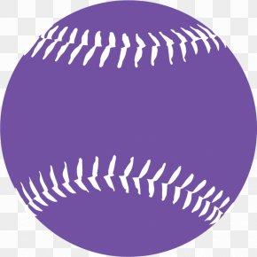Purple Softball Cliparts - MLB Baseball Softball Pitch PNG