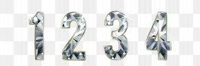 Dazzling Diamonds Digital Vector Material - Typeface Download Font PNG