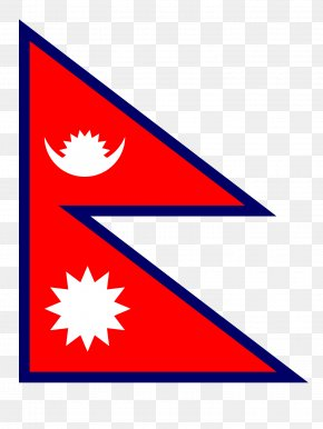 Flag - Largest Human Flag Of Nepal National Flag PNG