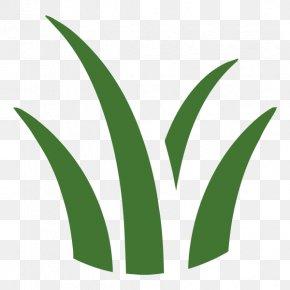 Yard Work - Leaf Logo Grasses Plant Stem Font PNG