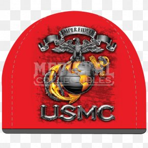United States - Flag Of The United States Marine Corps Semper Fidelis Eagle, Globe, And Anchor PNG