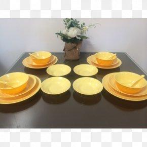 Tableware Set - Plate Melamine Ceramic Tableware Bowl PNG