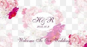 Vector Wedding Flowers Poster - Poster Wedding Garden Roses PNG