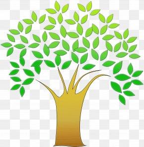 Grass Plant Stem - Green Leaf Flowerpot Clip Art Tree PNG