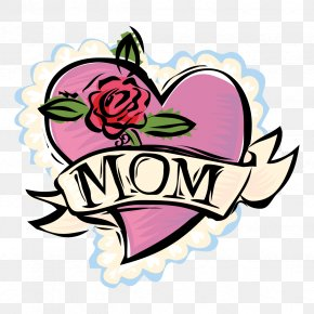 Word Mom Cliparts - Mothers Day Free Content Clip Art PNG