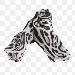 Female Leopard Scarf - Leopard Scarf PNG