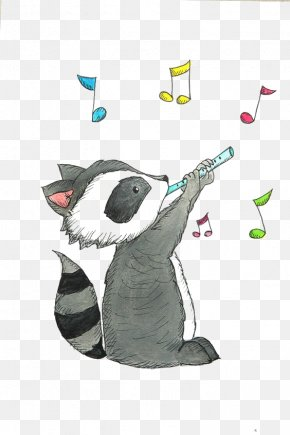 Raccoon - Raccoon Drawing Cuteness Illustration PNG