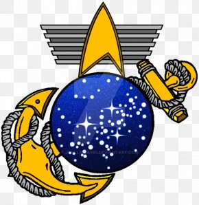 Defiant Frame - Clip Art Eagle, Globe, And Anchor United States Marine Corps United States Of America Military PNG