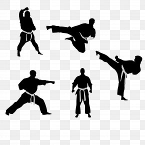 Karate Creative People - Taekwondo Karate Kick Martial Arts PNG