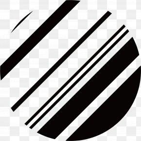 Black Dashed Circle - Black PNG
