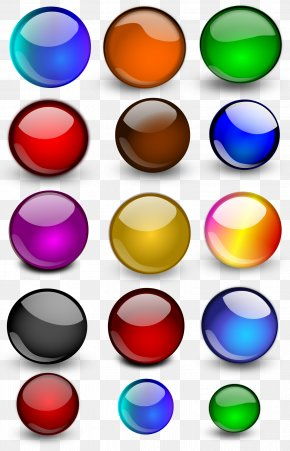 Glossy Orb Cliparts - Bowling Ball Clip Art PNG