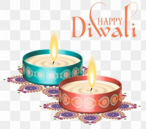 Happy Diwali Nice Candles Clipart Image - Diwali Clip Art PNG