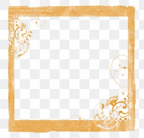 Vintage Decorative Frame Pattern Simple Curve - Picture Frame Green Pattern PNG