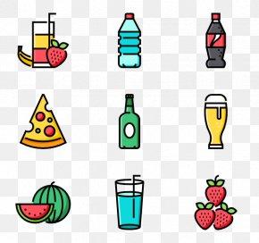 Summer Drinks - Clip Art PNG