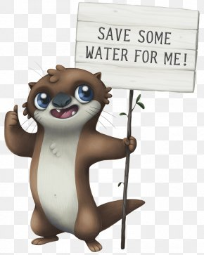 Water - Water4Otter Water Efficiency Water Conservation PNG