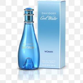 Perfume - Cool Water Perfume Eau De Toilette Davidoff Body Spray PNG
