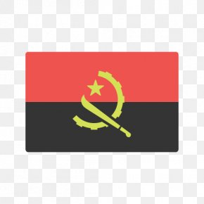 Flag - Flag Of Angola National Flag Flags Of The World PNG