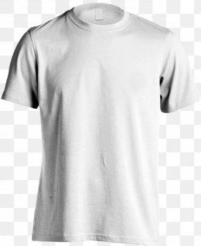 White Shirt - T-shirt Hoodie Clothing Crew Neck PNG
