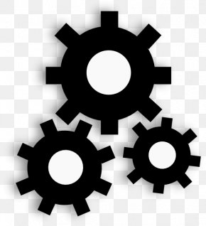 Mechanical Cliparts - Industry Factory Gear Clip Art PNG