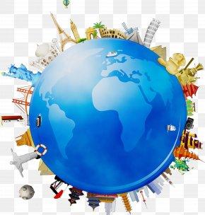 Sphere Logo - Globe World Earth Planet Interior Design PNG
