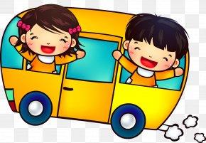 School Bus - School Bus Student PNG