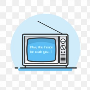 There Are Old-fashioned Text Screen TV - Old Fashioned Television PNG