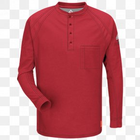 T-shirt - Long-sleeved T-shirt Henley Shirt PNG