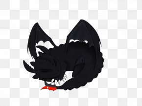 Toothless - Black M PNG