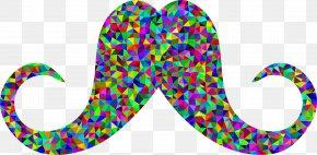 Moustache - Moustache Color Clip Art PNG