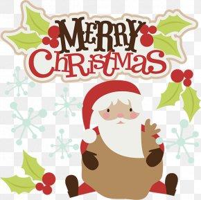 Merry Christmas Clip Art - Santa Claus Christmas Clip Art PNG
