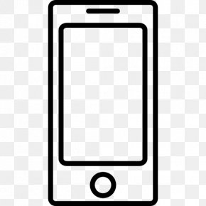 Iphone - IPhone Smartphone Telephone Clip Art PNG