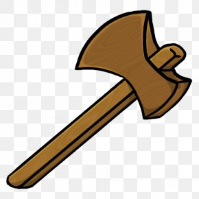 Minecraft House Cliparts - Battle Axe Hatchet Clip Art PNG