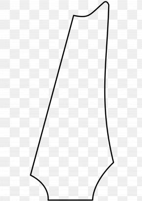 Angle - White Line Art Shoe Angle Font PNG