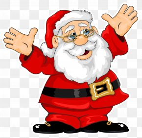 Santa Claus Clipart - Santa Claus Village Santa Claus House Christmas Gift PNG