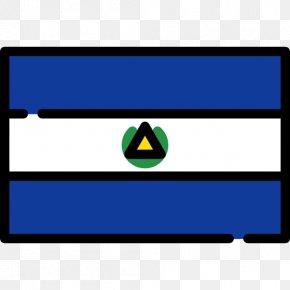 Flag - Flag Of Nicaragua National Flag Flags Of The World PNG