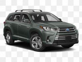 Toyota - 2018 Toyota Highlander Hybrid XLE Sport Utility Vehicle Hybrid Vehicle PNG