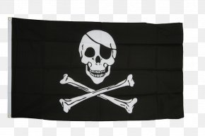 Flag - Jolly Roger International Maritime Signal Flags Piracy Skull And Crossbones PNG