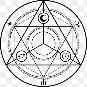 Magic Circle - Alchemy Magic Circle Fullmetal Alchemist Art PNG