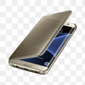 Samsung-s7 - Samsung GALAXY S7 Edge Mobile Phone Accessories Clamshell Design Samsung Galaxy S8+ Clear Cover Telephone PNG