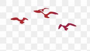 Flying Bird Silhouette - Bird Silhouette PNG