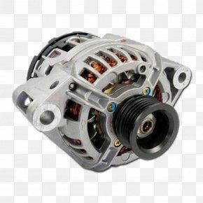 Car - Car Alternator Electric Generator Automotive Industry PNG