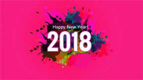 Happy New Year - New Year's Day Wish Greeting & Note Cards PNG